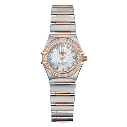 111.25.23.60.55.003 Replica Omega Watches Constellation Ladies Quartz horloge