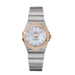 123.25.27.60.55.002 Replica Omega Watches Constellation Ladies Quartz horloge
