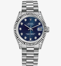 Replica Rolex Datejust Lady 31 Watch: 18 karaat witgoud - M178239-0016