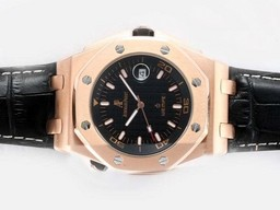 Fake Cool Audemars Piguet Royal Oak Offshore Automatische Rose Gouden Kast AAA horloges [ T2H2 ]