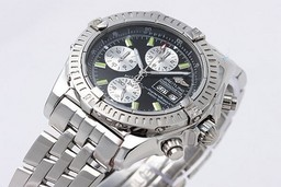 Fake Grote Breitling Chronomat Evolution werken Chronograph Automatic AAA Horloges [ B9P1 ]