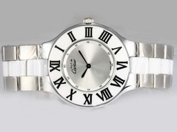 Fake Cool Cartier Pasha Moet de With Silver Dial AAA Horloges [ F2E1 ]