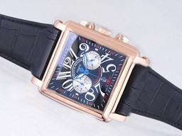 Fake Cool Franck Muller Conquistador Koning Chronograph Automatic Rose Gold AAA horloges [ E5C3 ]