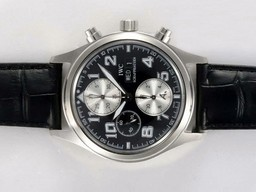 Fake Fancy IWC Saint Exupery Chronograph Movement AAA Horloges [ I7H1 ]