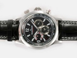 Fake Fancy Jaeger - Lecoultre Master Compressor Geographic Chronograph Automatic AAA Horloges [ A4V7 ]