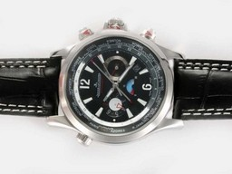 Fake Gorgeous Jaeger - Lecoultre Master Compressor Geographic Chronograph Automatic AAA Horloges [ G9G8 ]