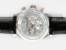 Fake Gorgeous Jaeger - Lecoultre Master Compressor Geographic Chronograph Automatic AAA Horloges [ X7P5 ]