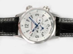 Fake Gorgeous Jaeger - Lecoultre Master Compressor Geografische Automatische AAA Horloges [ N1M2 ]