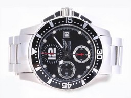 Fake Cool Longines HydroConquest V Chronograph Azië Valjoux 7750 Beweging AAA Horloges [ R5E3 ]