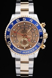 Fake Grote Rolex Yachtmaster II AAA Horloges [ M3H8 ]