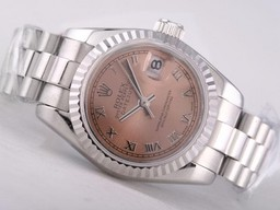 Fake Populaire Rolex Datejust Beweging met Champagne Dial - Romeinse Markering AAA Horloges [ I7N4 ]