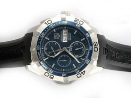 Fake Cool Tag Heuer Carrera Chronograph Automatic AR Coating Hetzelfde Chassis Als Movement AAA Horloges [ L1R1 ]