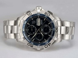 Fake Fancy Tag Heuer Aquaracer Chrono Day- Date Chronograph Automatic AAA Horloges [ B7O2 ]