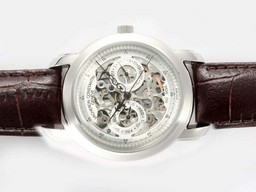 Fake Perfect Vacheron Constantin Skeleton Chronograph Automatic AAA Horloges [ H7M1 ]